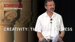 Creativity - The Pixar Process